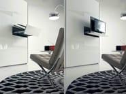 Swivel retractable TV cabinet GHOST - Fimar