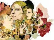 Decorative panel GI-012 - MOMENTI di Bagnai Matteo