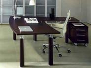L-shaped executive desk GIOVE G20WD - Arcadia Componibili - Gruppo Penta