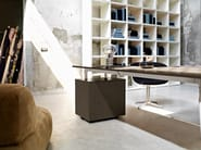 L-shaped executive desk GLAMOUR EXECUTIVE | L-shaped office desk - Sinetica Industries