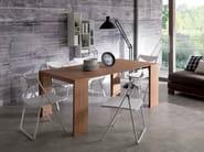 Extending wooden console table GOLIETTA - Ozzio Italia