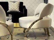 Upholstered velvet armchair GOTHAM - Formitalia Group
