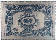Tappeto fatto a mano rettangolare in lana e seta GRAND PALAIS - Golran