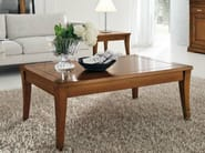 Square solid wood coffee table GRANDAMA | Coffee table - Devina Nais