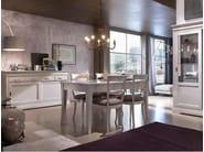 Extending lacquered rectangular table GRANDAMA | Lacquered table - Devina Nais