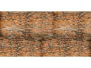 Brick effect washable nonwoven wallpaper GRRR... - CREATIVESPACE