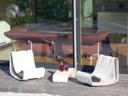 Cement garden armchair GUHL | Garden armchair - SWISSPEARL Italia