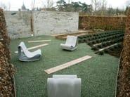 Cement garden armchair GUHL   Garden armchair - SWISSPEARL Italia