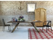 Rectangular table GUSTAVE | Walnut table - Miniforms