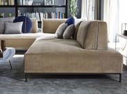 Sectional fabric sofa SANDERS AIR - Ditre Italia