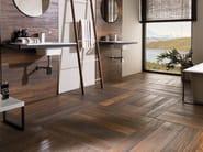 Indoor/outdoor porcelain stoneware flooring with wood effect HAMPTON - Venis
