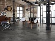 Ceramic flooring with concrete effect HANNOVER 60X60 - Carmen Ceramic Art