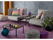 Rectangular coffee table for living room HARRY GLASS | Rectangular coffee table - MissoniHome