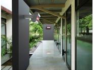 Infrared outdoor heater HATHOR | Low Glare White - Mo-el