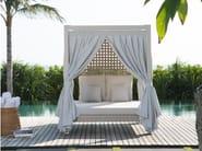 Letto da giardino matrimoniale a baldacchino HEART 23286 - SKYLINE design
