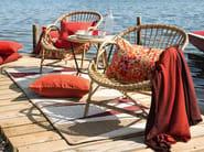 Solid-color merino wool lap robe HEAVEN - Élitis