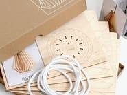 Plywood pendant lamp HEKTOR - IUMI