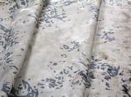 Handmade rectangular custom rug HERITAGE STONE - EDITION BOUGAINVILLE