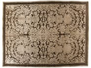 Patterned handmade rectangular rug HERMITAGE - Golran
