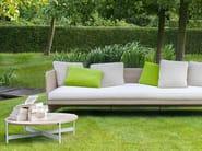 Low round natural stone coffee table HERON | Stone coffee table - Paola Lenti