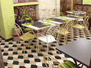 Indoor/outdoor full-body porcelain stoneware flooring HEX - PROVENCAL TILE - ETRURIA design