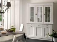 Modular wooden highboard with doors CLASSIC MELODY | Highboard - Callesella Arredamenti S.r.l.