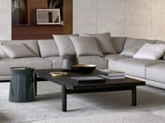 Low rectangular wood veneer coffee table HOME HOTEL | Rectangular coffee table - Poliform