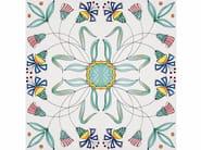 Rivestimento / pavimento in ceramica I GRANDI CLASSICI FIORE STILIZZATO - CERAMICA FRANCESCO DE MAIO
