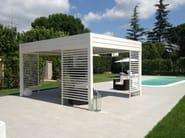 Aluminium gazebo with sliding cover I1 | Gazebo - KE Outdoor Design
