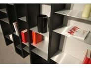 Libreria laccata modulare in MDF ICE - ARKOF LABODESIGN
