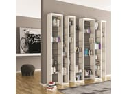 Lacquered modular MDF bookcase ICE MIX - ARKOF LABODESIGN