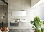 Porcelain stoneware wall tiles with marble effect ICON OYSTER | Wall tiles - La Fabbrica