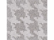 Marble grit wall tiles INVADERS L - Mipa