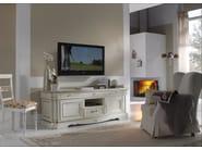 Low wooden TV cabinet DOGI | TV cabinet - Arvestyle