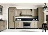 Fitted wood kitchen ISLAMORADA - COMPOSITION 01 - Marchi Cucine