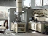 Cucina componibile laccata con isola ISLAMORADA - COMPOSIZIONE 03 - Marchi Cucine