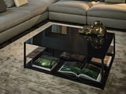 Glass coffee table for living room ISOLA | Glass coffee table - Arketipo