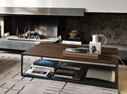 Oak coffee table for living room ISOLA | Oak coffee table - Arketipo