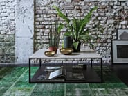 Stone coffee table for living room ISOLA | Stone coffee table - Arketipo