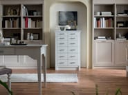 Free standing wooden chest of drawers ITALIAN MOOD | Chest of drawers - Callesella Arredamenti S.r.l.