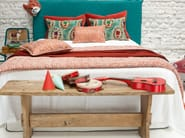 Rectangular linen cushion with removable cover JAIPUR - Élitis