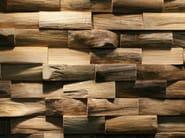 Reclaimed wood 3D Wall Tile JAVA SP LARGE - Teakyourwall