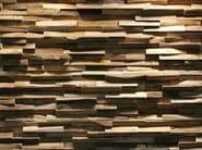 Reclaimed wood 3D Wall Tile JAVA SP SMALL - Teakyourwall