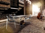 Stackable garden chair with armrests JAZZ | Stackable chair - solpuri