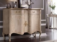Solid wood sideboard with doors JENNY - Arvestyle