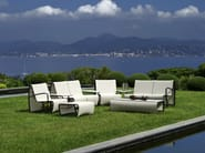 Sectional Batyline® garden armchair with armrests JETSTREAM | Garden armchair - Les jardins