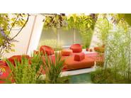 Fabric garden pouf JOLLY - Paola Lenti