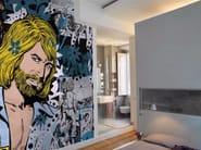 Pop art wallpaper JONAS - Inkiostro Bianco