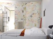 Motif panoramic wallpaper KAORI - Inkiostro Bianco