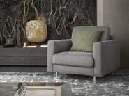 Fabric armchair with armrests KENDAL   Armchair - Felis
